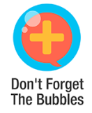 Don't forget the bubbles