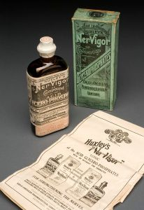 800px-Bottle_of_Huxley's_'Ner-Vigor',_England,_1892-1943_Wellcome_L0058547